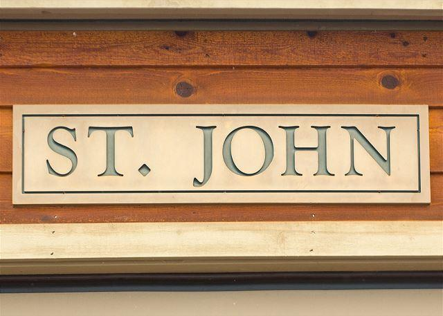 St John Building Sign - Teton Shadows townhouse close to Jackson Hole and Grand Teton National Park! - Jackson - rentals