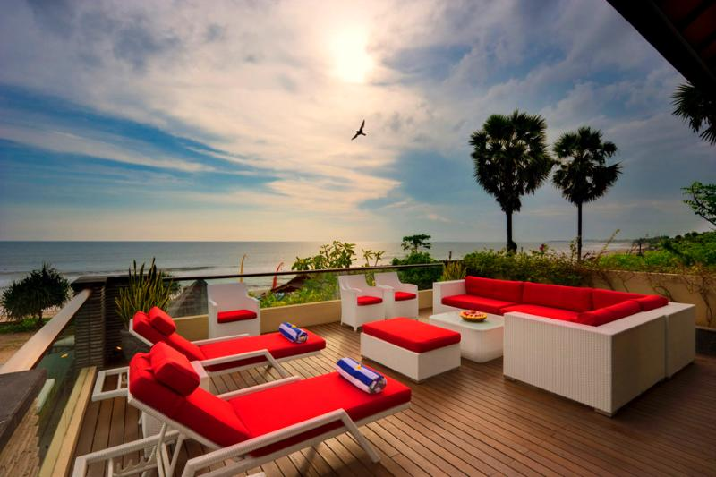 5 bedroom beachfront luxury Bali citycenter villa - Image 1 - Canggu - rentals