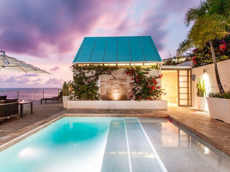 Private Pool with Water Feature - CéBlue Villas & Beach Resort - Five Bedrooms with Beachfront Access and Ocean Views - Anguilla - rentals