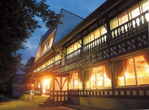 Hakuba Iwatake Lodge exterior summer - Hakuba Iwatake Lodge - Ski in, Ski out Lodge. - Hakuba-mura - rentals