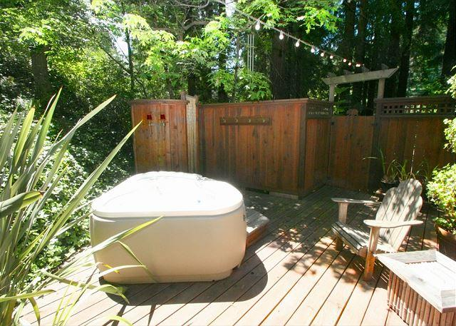 Stunning Cottages in the Forest! Hot Tub,Hammock 3 nights for 2!! - Image 1 - Cazadero - rentals