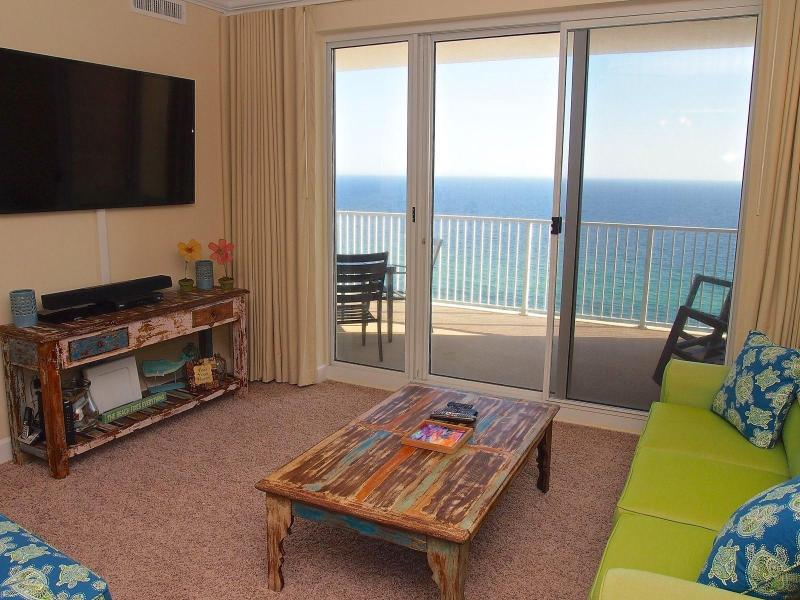 Living Area - Breathtaking Oceanside Views at Ocean Reef - Panama City Beach - rentals