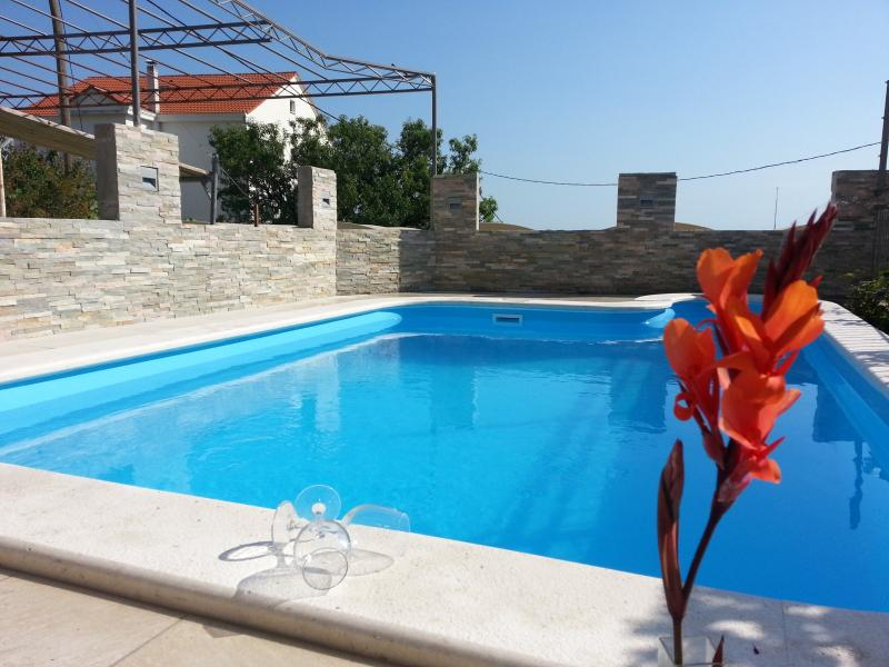 "Outdoor private swimming pool. - Holiday house with private pool ""Petra"" - Split - rentals"