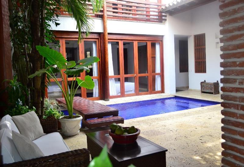 Entrance of the house - 5 bedrooms Luxury house in Cartagena de Indias Col - Cartagena - rentals