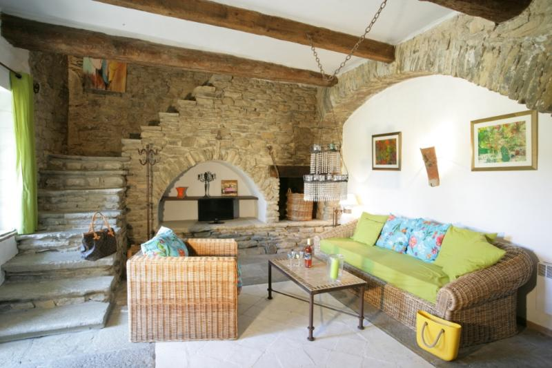 """Auriac"" for 5 Guests - Living Area - Château de Villarlong - ""Auriac"" for 5 Guests - Carcassonne - rentals"
