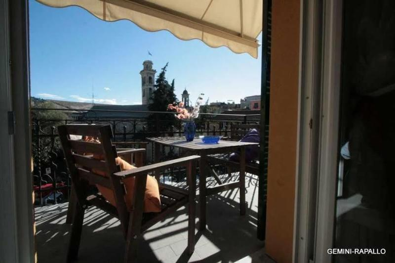 terrace - Gemini -Top comfort in the heart of Rapallo - Rapallo - rentals