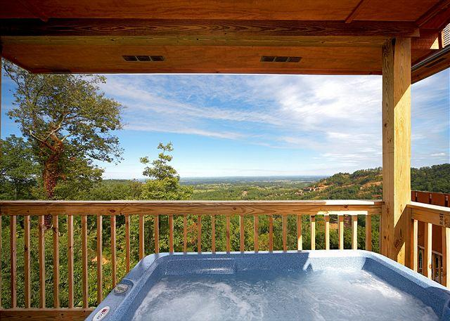 "Incredible Views from Your Private Hot Tub - Log Cabin w/ Hot Tub, Pool Table, 60"" TV, WiFi, & Views. April from $79. - Sevierville - rentals"