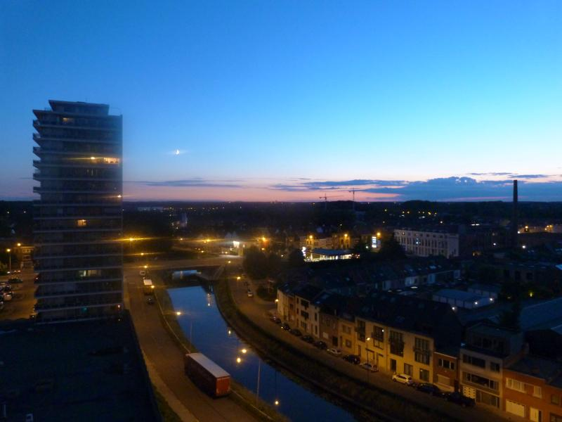 View by night - Central flat with a stunning view (Ghent) - Ghent - rentals