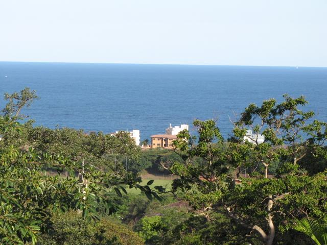 VIEW FROM CASASORO TERRACE - Casadoro Bed and Breakfast, Durban, South Africa - Amanzimtoti - rentals