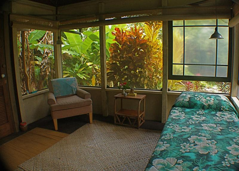 Simplicity and basic comforts in the midst of extraordinary wild beauty! - Banana Patch Cottage, a tiny gem! - Hakalau - rentals