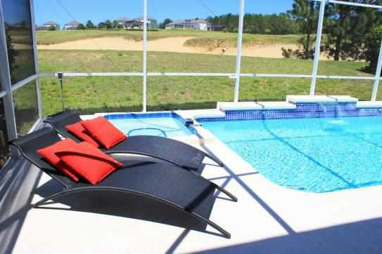Estate with Private Pool overlooking Golf Course - 14 Room Disney Area Golf Resort  (Disney Mansion) - Davenport - rentals