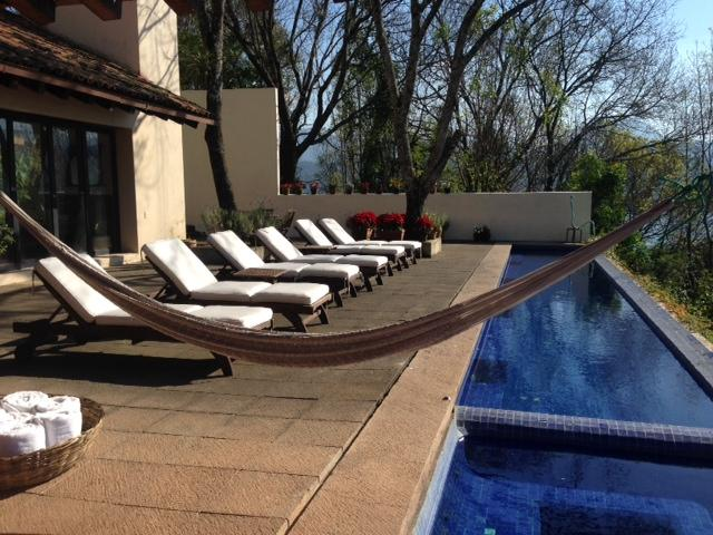 Pool and terrace - Valle de Bravo's best lake view, great house - Valle de Bravo - rentals
