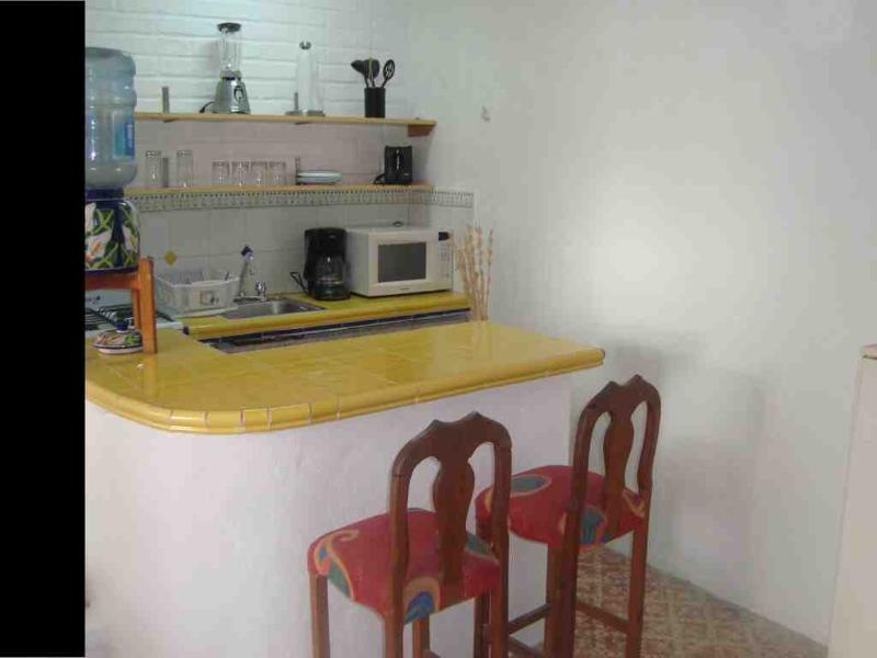 kitchen - romatic zone, close from beach, furnished - Puerto Vallarta - rentals