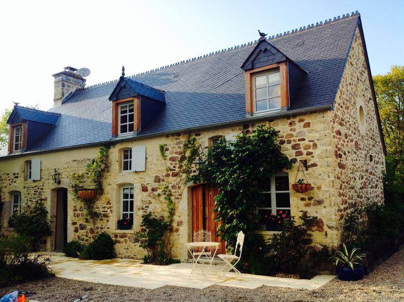 Les Belles Rivieres - Luxury 1 bedroom apartment in beautiful Normandy - Negreville - rentals