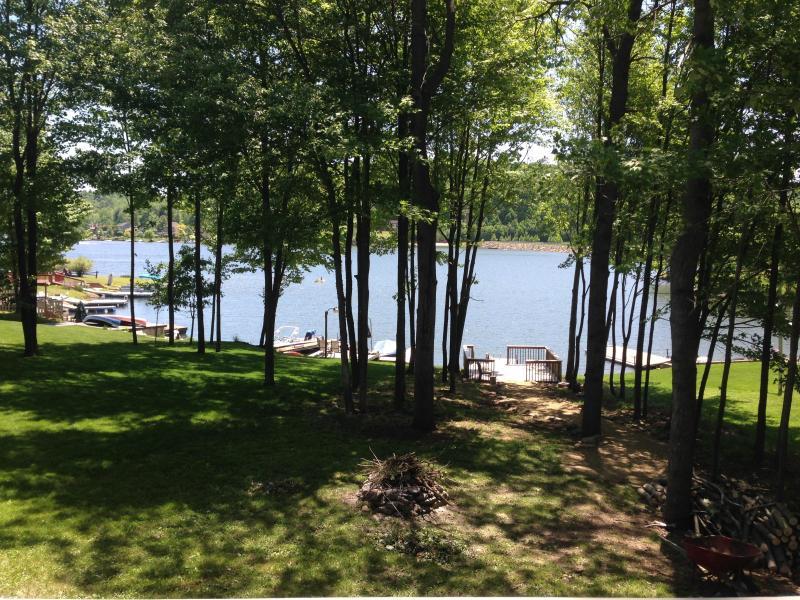 Lakefront view - Overton's Retreat at Treasure Lake Lakefront Cabin - DuBois - rentals