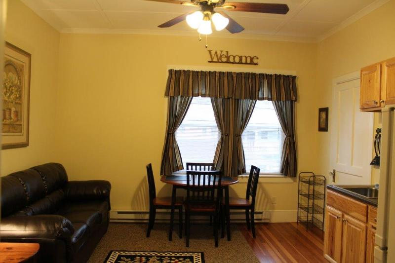 Suite 1 - Living Room/Kitchen - Village Suites at Fleischmanns - Suite 1 - Fleischmanns - rentals