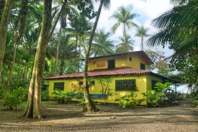 House from street view - Dos Palmas Beach cabinas! - Palma Quemada - rentals