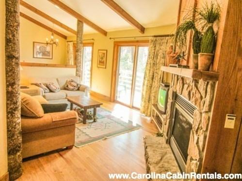 Delightful Creekside Mountain Cottage at Yonahlossee Resort - Image 1 - Boone - rentals