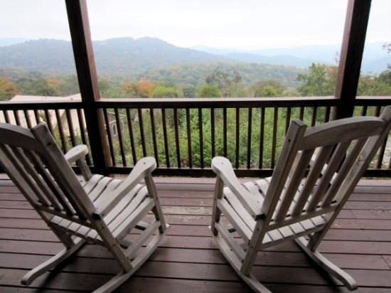 View From Rockers at Sugar View - Sugar View - Sugar Mountain - rentals