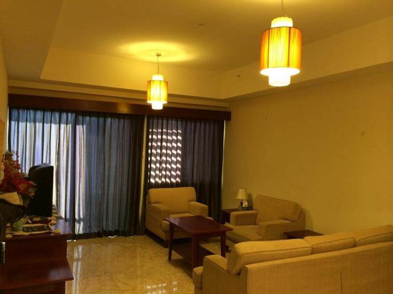 Living room - 3BD Resort Apartment with Amazing Golf Course View - Skudai - rentals