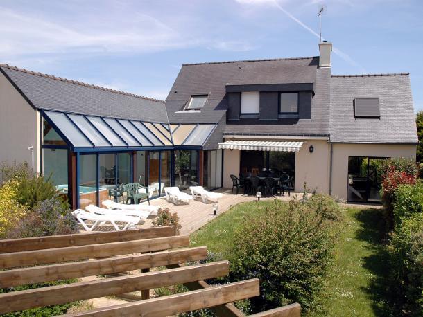 6 bedroom Villa in MoëLan Sur Mer, Brittany, France : ref 1718885 - Image 1 - Moelan-sur-mer - rentals