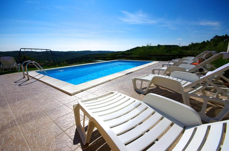 Villa with an amazing view and location - Image 1 - Motovun - rentals