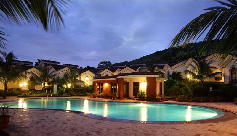 Serene & Luxurious - Govind's suite at Riviera Foothills - Arpora - rentals