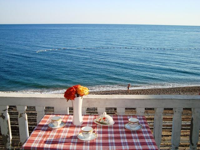 View on the sea from balcony - Sunset Promenade Rooms Sutomore Montenegro - Sutomore - rentals