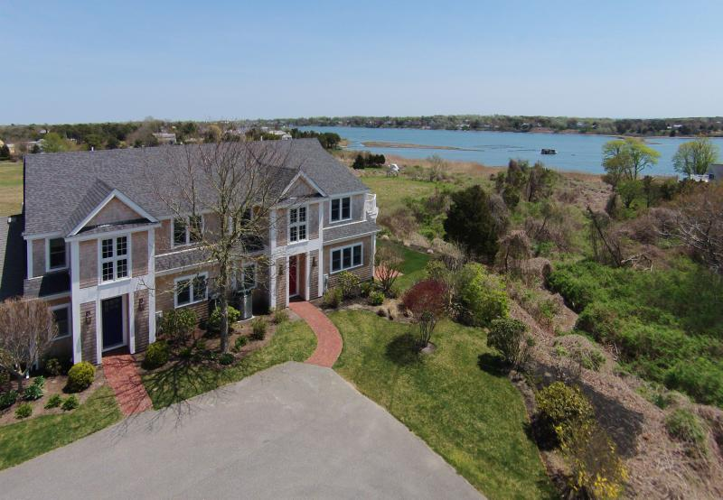 Exterior of 31/32 - Spectacular Waterfront Home - Oyster Pond 31&32 - Chatham - rentals