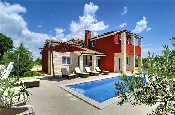 4 bedroom Villa in Marcana, Istria, Bratulici, Croatia : ref 2234378 - Image 1 - Bratulici - rentals