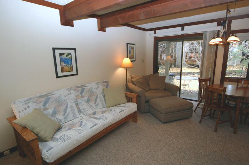 Living Room - Tahoe Racquet Club Lower 98 - Incline Village - rentals