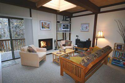 Living Room - Tahoe Racquet Club Upper 98 - Incline Village - rentals