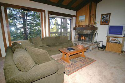 Living Room - Bitterbrush 16 - Incline Village - rentals