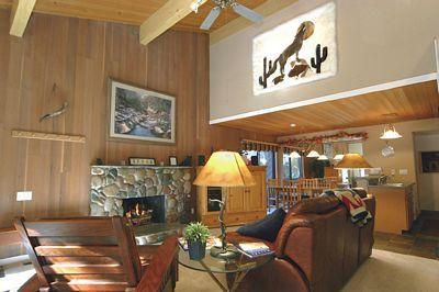 Living Room - Forest Pines 1-56 - Incline Village - rentals