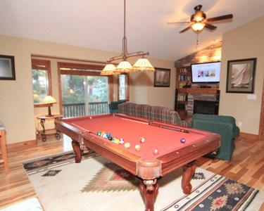 Game room - 843 Golfers Pass - Incline Village - rentals
