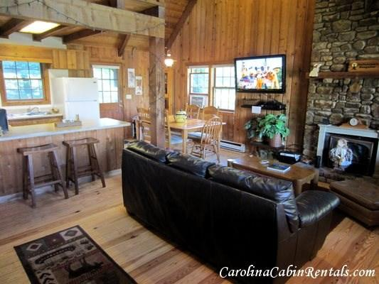 3BR Mountain Cabin with Game Room, Flat Screen TV, Stone Wood Burning - Image 1 - Blowing Rock - rentals