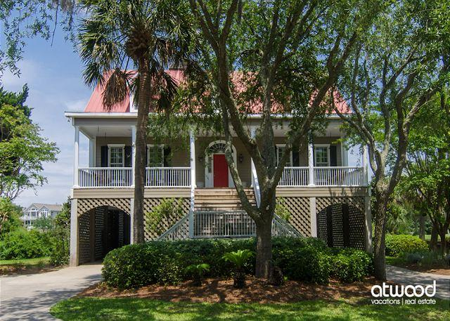 Cat's Cottage - 5BR/4BA Beach Walk Home With Views & Tasteful Decor - Image 1 - Edisto Island - rentals