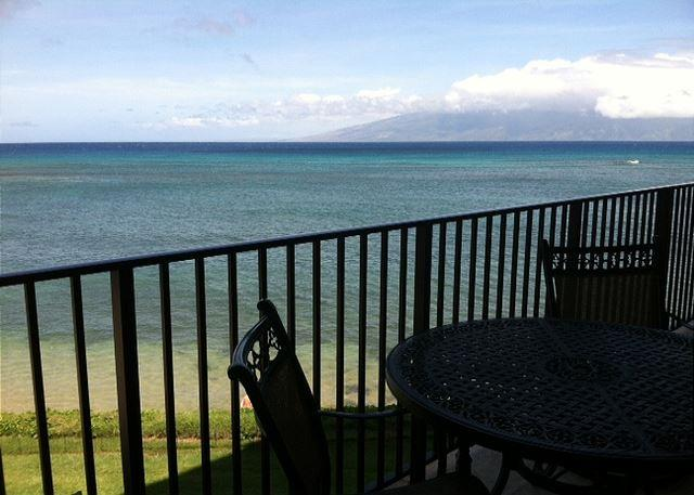 View of Molokai - A303 Hololani Oceanfront Resort - Lahaina - rentals