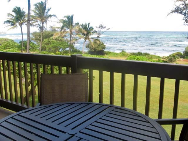 Kaha Lani Resort #224-OCEANFRONT 2 BR, end unit - Image 1 - Kapaa - rentals