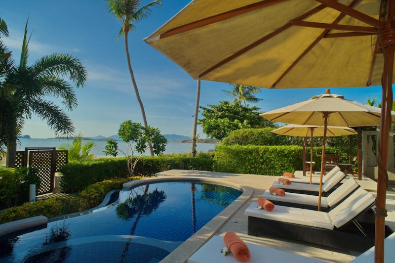 Villa 05 - Great Value Beach Front Villa with Pool - Image 1 - Koh Samui - rentals