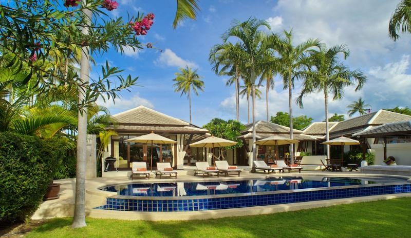 Villa 10 - Great Value Beach Front Villa with Pool - Image 1 - Plai Laem - rentals
