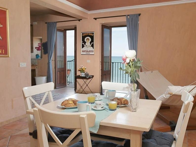 Stunning apartment with amazing sea view in the old town - Image 1 - Cefalu - rentals