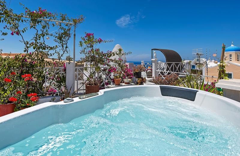 SUNSET TERRACE, ourdoor jacuzzi, panoramic Sunset! - Image 1 - Oia - rentals