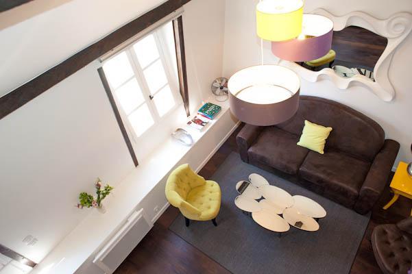 Rue Quincampoix. Comfortable and nicely designed 1bed Duplex in Le Marais - Image 1 - Paris - rentals