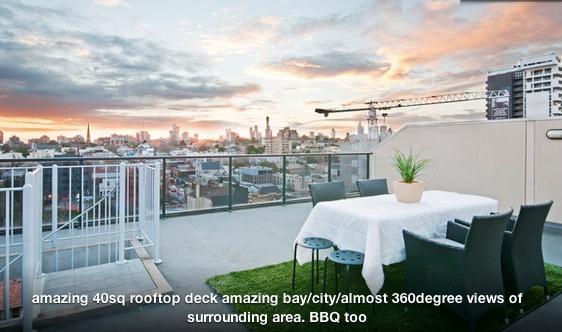 South Yarra Rooftop Entertainer (2br) - Image 1 - Melbourne - rentals