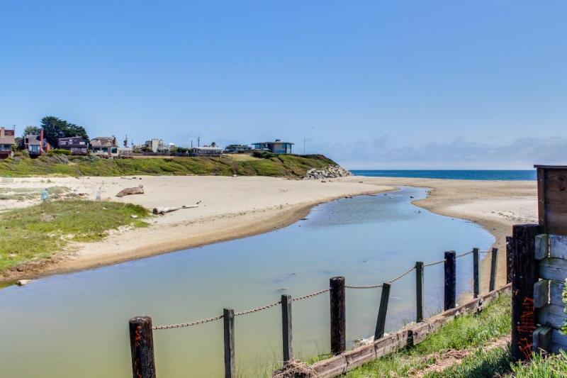 Dog-friendly home w/deck; ocean views; fenced yard - Image 1 - Santa Cruz - rentals