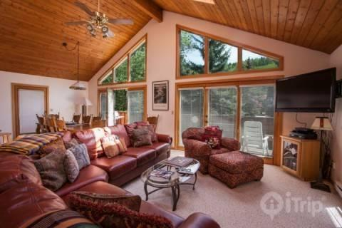 Mountain Views from Living Area - Stone Creek Drive - Minturn - rentals