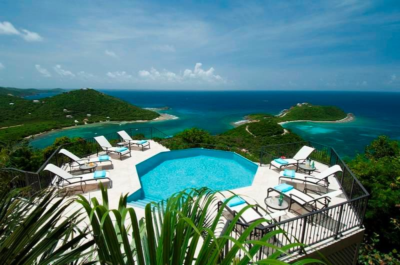 Island Rider: Luxury Villa with Amazing Views! Pool and Hot Tub! - Image 1 - Cruz Bay - rentals