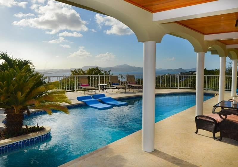 Sea Forever: 180 Degree Sunset Views! - Image 1 - Chocolate Hole - rentals