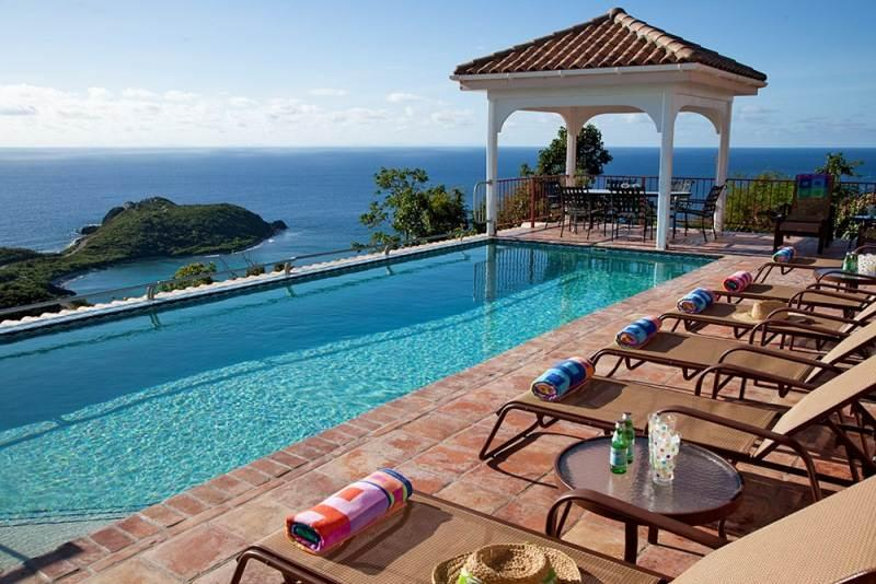 Villa Panache: Huge 6 Bedroom Villa! Sleeps 14! Full AC! - Image 1 - Rendezvous Bay - rentals
